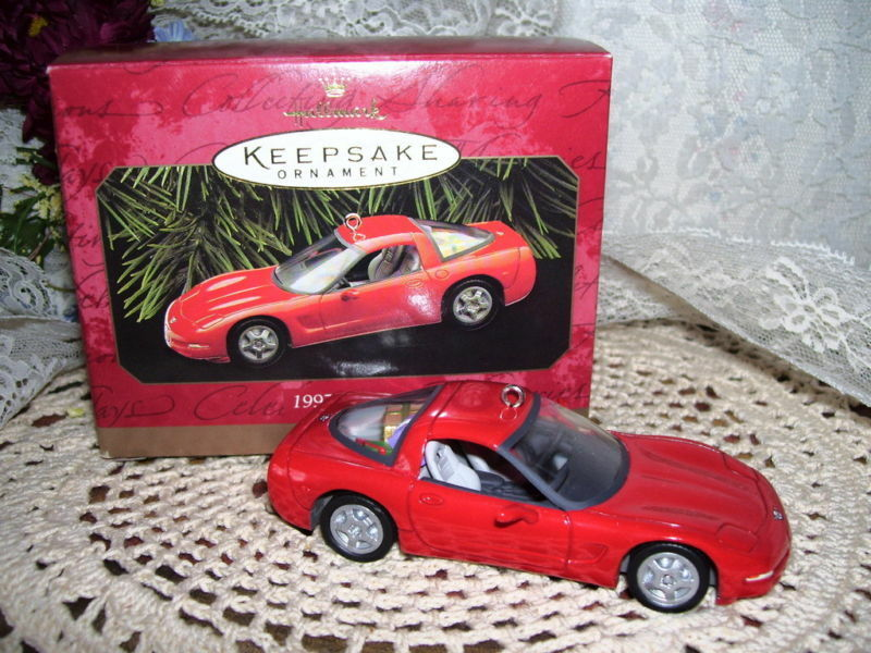 Primary image for HALLMARK ORNAMENT 1997 CORVETTE MIB