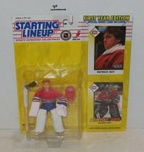 1993 Kenner SLU Starting Lineup Hockey Patrick Roy Figure Canadians Aval... - $42.08