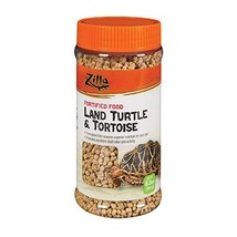 Zilla Reptile Food Land Turtle & Tortoise Fortified, 6.5-Ounce image 1