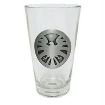 SHIELD Metal Logo Pint Glass  - $19.98