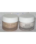 Lancome Absolue Premium Bx Day and Absolue Premium Bx Night Set - $27.98
