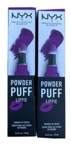 NYX Powder Puff Lippie Lip Cream #PPL14 'Senior Class' .4 oz. Lot of 2 N... - $13.49