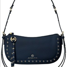 MICHAEL Michael Kors Camden Small Pochette Bag Navy - $129.99