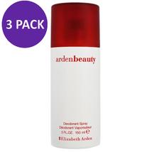 Arden Beauty Deodorant Spray for Women Elizabeth Arden 5 Oz (3 Pack) - $34.55