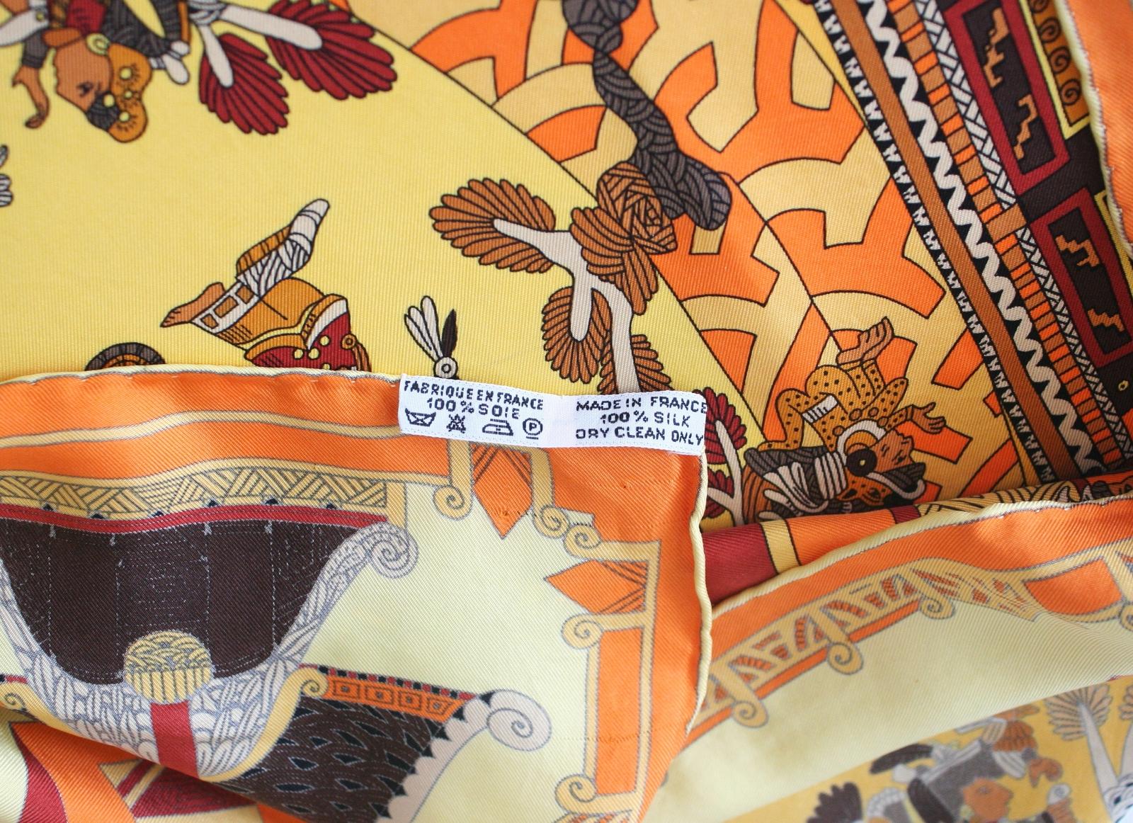 Hermes astres et soleils scarf
