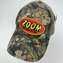 Zoom Bait Company Camouflage Adjustable Adult Ball Cap Hat - $12.86
