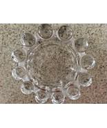 "Clear Glass Boopie Ball Ashtray/Trinket Dish/Bowl - 5 1/4"" - $14.03"