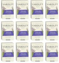 12 X Yardley London English Lavender Moisturizing Bath Bar 4.25 oz Each - $27.71