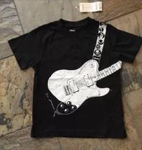 New 5 Boys Gymboree Black Guitar Shirt NWT Cool! - $9.49