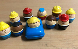 Little Tikes Toddle Tots ~ Lot of 10 Figures 1 Car - $18.49