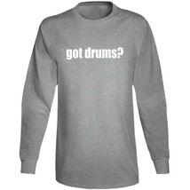 Got Drums Drummer Musician Long Sleeve T Shirt image 11