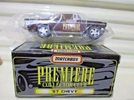 Matchbox PREMIERE COLLECTOR CLUB 1957 CHEVY Chevrolet Car Sealed Bag Nu ... - $13.85