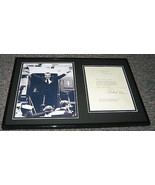 Richard Nixon Facsimile Signed Framed Letter & Peace Photo Display 1970 - $148.49