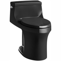 KOHLER One Piece Toilet 1.28 GPF Single Flush Gravity Fed Elongated Bowl Black - $997.28