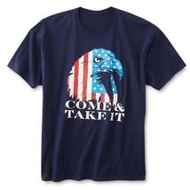 NWT Men's Big & Tall T-Shirt Come & Take It XLT 2XL Patriotic America Sh... - $14.99