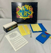 NAME BURST GAME 1992 - $13.56