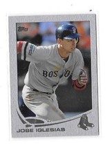 2013 RED SOX Topps Silver SLATE Wrapper Redemption #432 JOSE Iglesias #0... - $16.69