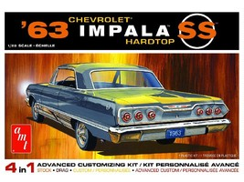 AMT 1:25 Scale 1963 Chevy Impala SS - 1149 - $33.40