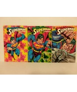 SUPERMAN DOOMSDAY: HUNTER PREY SET - FREE SHIPPING - $18.70