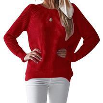 Long Sleeve Loose Women Knitwear Split Jumpers Female Sweet Autumn Sweat... - $40.17+