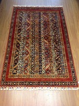 "Handmade Multi-colored Oriental Shawl Rug KAZAK 7' 0"" X 9' 5"" - $2,474.01"