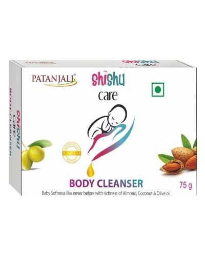 PATANJALI SHISHU CARE BODY CLEANSER (SOAP BAR)- 75gm