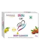 PATANJALI SHISHU CARE BODY CLEANSER (SOAP BAR)- 75gm  - $11.99+