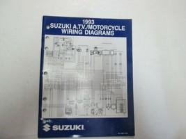 1993 Suzuki A. T.V. MOTORCYCLE WIRING DIAGRAMS MANUAL P/N 99923-13931 *** - $24.64