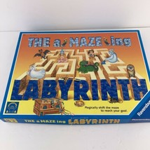 Vintage 1995 The Amazing Labyrinth Board Game by Ravensburger Maze 100% Complete - $14.84