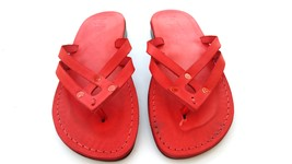 Leather Sandals for Women QUADRO by SANDALIM Biblical Greek Roman Sandals - $39.44 CAD+