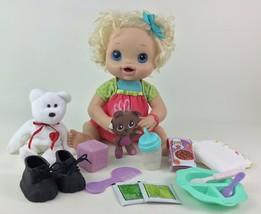 Baby Alive Doll My Baby Alive Interactive Blonde Eats Poops Hasbro 2010 #2 - $57.87