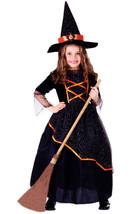 Black & Orange Witch Child Costume Set - $39.60