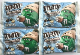 Lot of 4 M&M's 8 Oz Bags Hot Cocoa with Milk White Chocolate and Marshmallow New