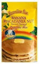 (Pack of 12) Hawaiian Sun Banana Macadamia Nut Pancake Mix 6 oz. - $94.05