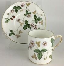 Wedgwood Wild Strawberry Cream Demitasse cup & saucer - $14.00
