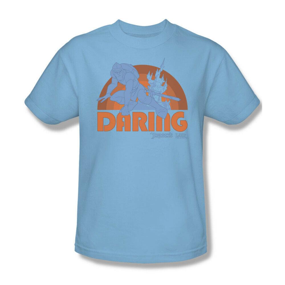 "Dragons Lair t-shirt ""Daring"" retro 80's arcade game vintage graphic tee DRL103"