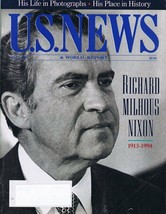 US News & World Report May 1994 Richard Nixon Memorial - $19.79