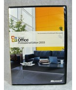 MICROSOFT 2003 OFFICE PROFFESIONAL EDITION SOFTWARE CD/W PRODUCT KEY - $19.79