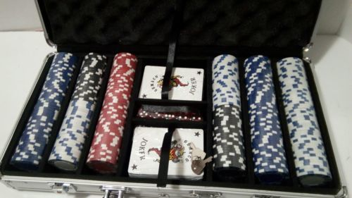 *NEW*  Willco 300 Pieces Poker Chip set in an Aluminum carrying Case  image 12