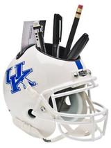 Kentucky Wildcats NCAA Football White Schutt Mini Helmet Desk Caddy - $21.95