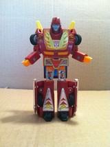 VINTAGE G1 TRANSFORMERS AUTOBOT HASBRO ROBOT TAKARA 1986 HOT ROD CAR - $23.99