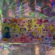 Rare Lisa Frank Long Prism Holographic Sticker Sheet ZODIAC HOROSCOPE ASTROLOGY image 2