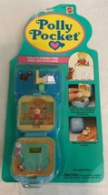 Vintage POLLY POCKET POLLY'S DINNER TIME RING AND RING CASE 1991 NEW & S... - $143.55