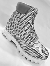 Men's White Fashion Boots - $129.00