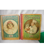 Antique Original Chatterbox Book Books 1891 and 1892 (2 books) - $71.23