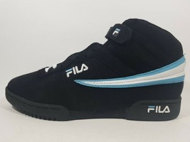 Fila Basketball M'S F-13 HL Men's Shoes Black High Top 11F149FX 960 SIZE 11 - $35.63