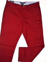 Tommy Hilfiger custom fit mercer dot pattern casual chino pants size 36x32  NEW - $59.95
