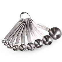 Measuring Spoons: U-Taste 18/8 Stainless Steel ((4) 9 Different Sizes) - $26.07