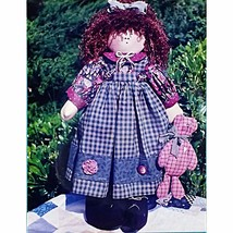 Candice Paige Doll Pattern Country 18 inch Tall Homespun Friends 107 c2271 - $9.89
