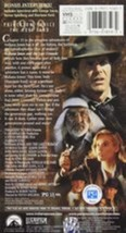 Complete Adventures of Indiana Jones Vhs image 3